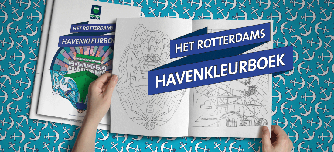 Rotterdams Havenkleurboek pakket